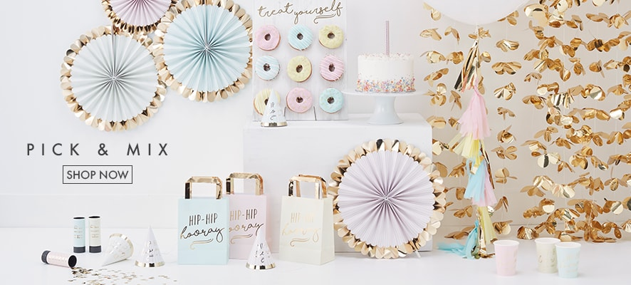 2527e8617 Party Supplies - Ginger Ray - We are your decoration experts