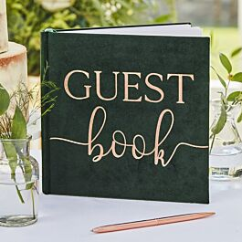 Ginger Ray Gold Foil Pastel Perfection Pink Guest Book