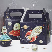 Paper Cups Ginger Ray Space Adventure Spaceship Robot Kids Party
